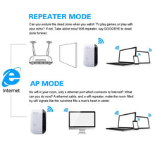 Load image into Gallery viewer, Wireless WiFi Extender Repeater & WiFi Amplifier
