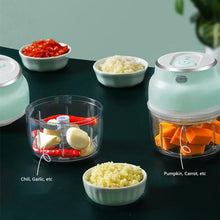 Load image into Gallery viewer, Electric Mini Garlic Chopper