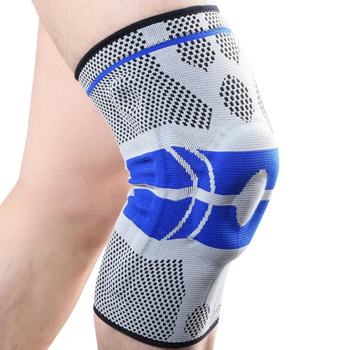 Knee Support for Men & Women - Knee Compression Sleeve for Running, Basketball, Weightlifting, Workout, Crossfit - Knee Stabilizer Brace for Meniscus Tear, Arthritis