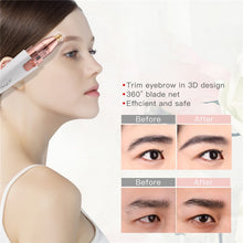 Load image into Gallery viewer, 2 in 1 Eyebrow Trimmer