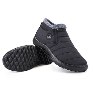 Waterproof Fur Lined Snow Short Boots