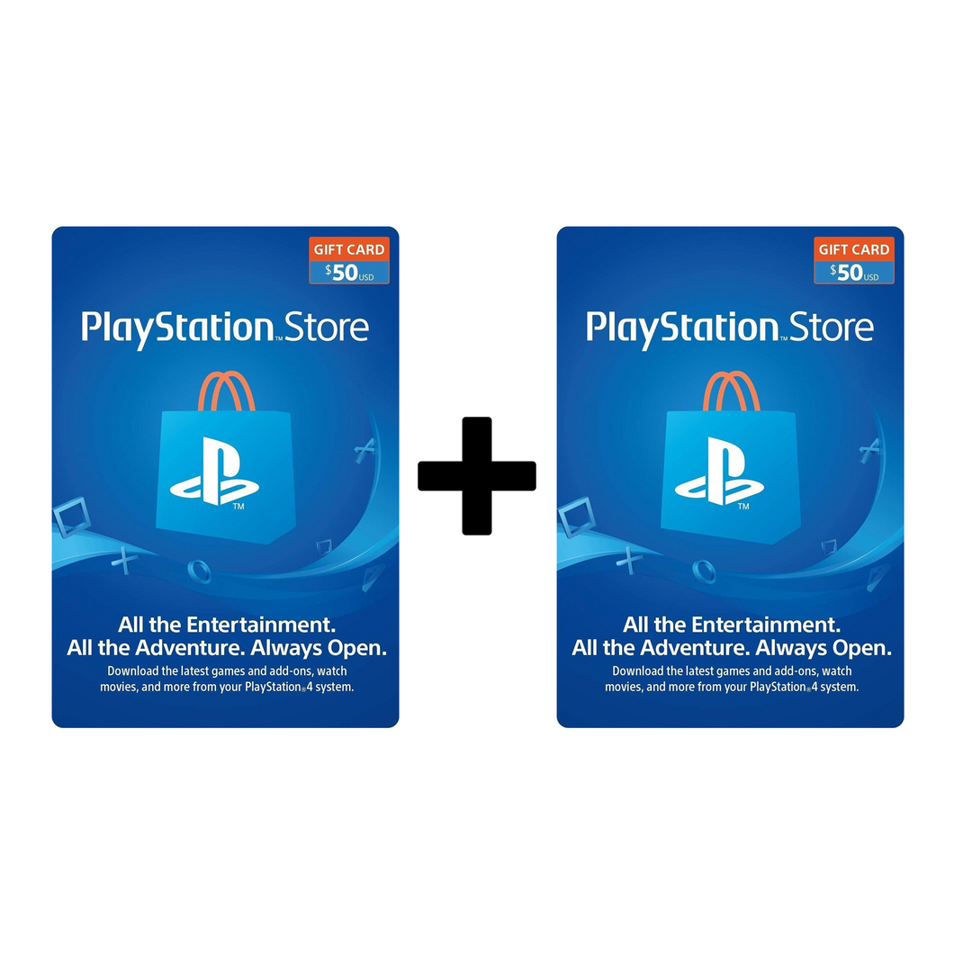 $100 PSN Card - USA