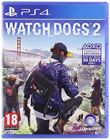 Watch Dogs 2 - PS4 - Playstation 4 (Used)