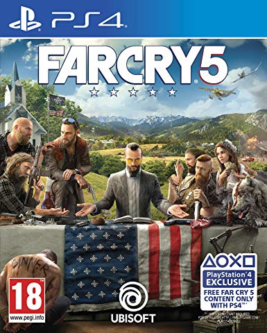 Far Cry 5 - PS4 - Playstation 4 (Used)
