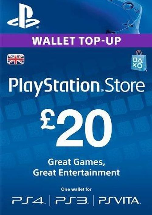 £20 PSN Card - UK