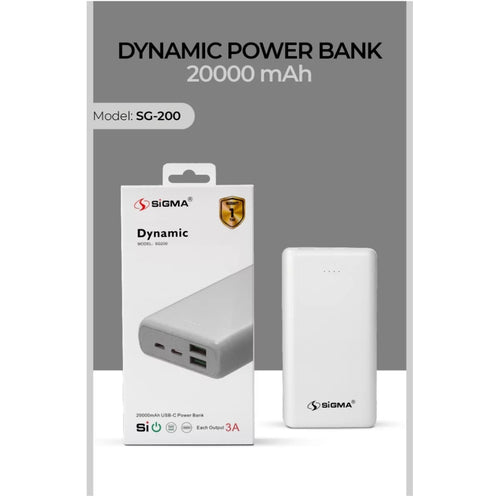 Sigma Dynamic Powerbank 20,000mAh
