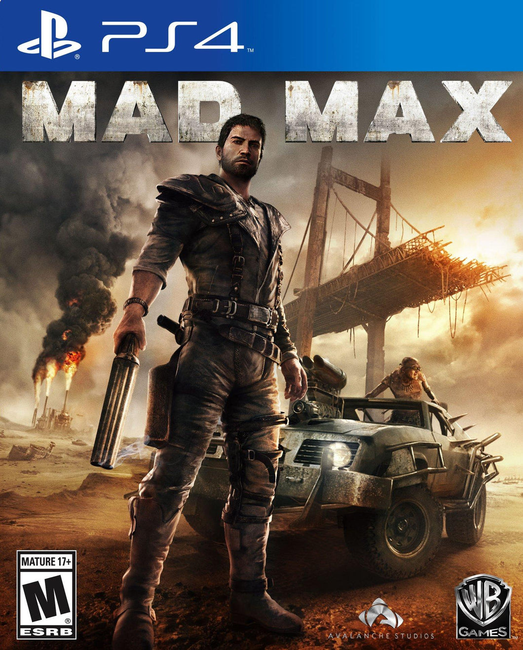 Mad Max - PS4 - Playstation 4 - (Used)