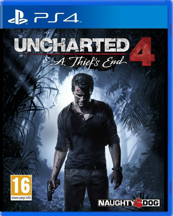 Uncharted 4: A Thief's End - PS4 - Playstation 4 (Used)