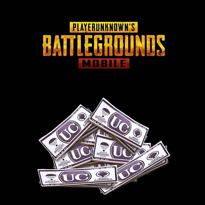 770 UC (Unknown Cash) - PUBG Mobile