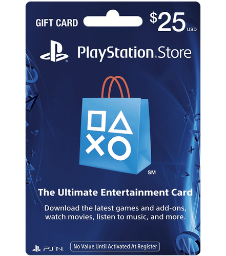 $25 PSN Card - USA