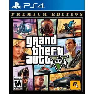 Grand Theft Auto 5 PREMIUM EDITION - PS4 - Playstation 4 - GTA 5