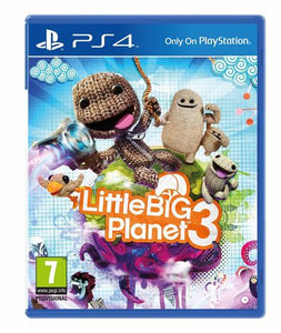 Little Big Planet 3 - PS4 - (Used)