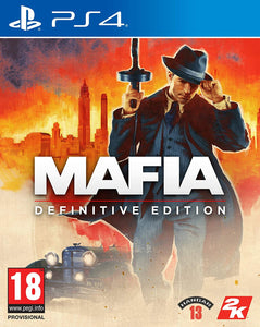 Mafia Definitive Edition - PS4 - Playstation 4 (Used)