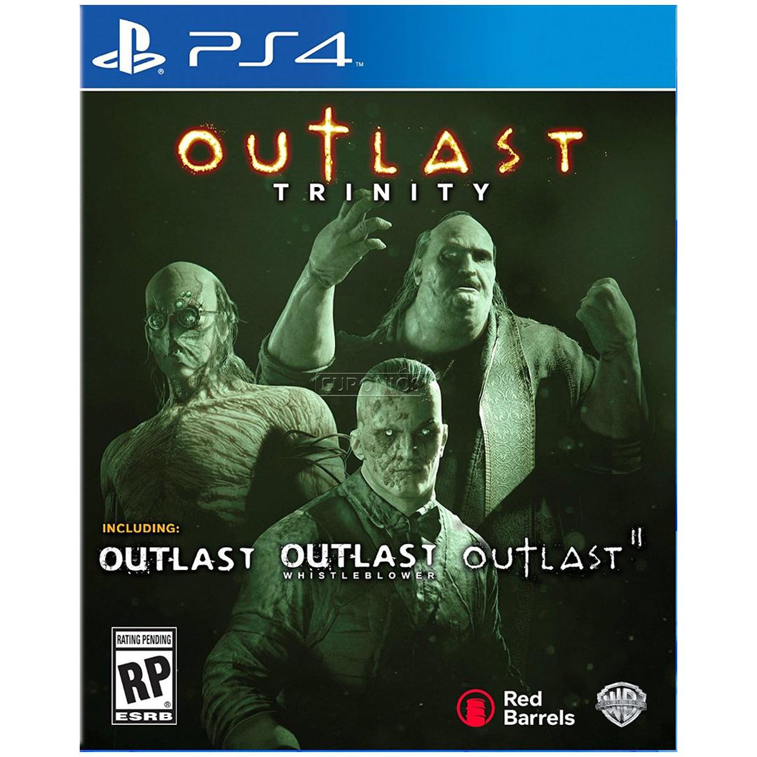 Outlast Trinity - PS4 - Playstation 4 (Used)