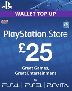 £25 PSN Card - UK