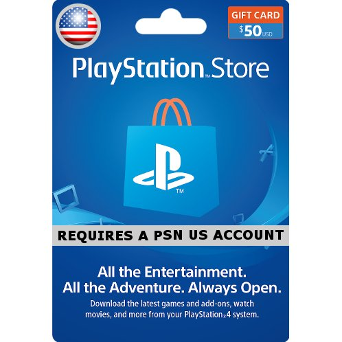 $50 PSN Card - USA