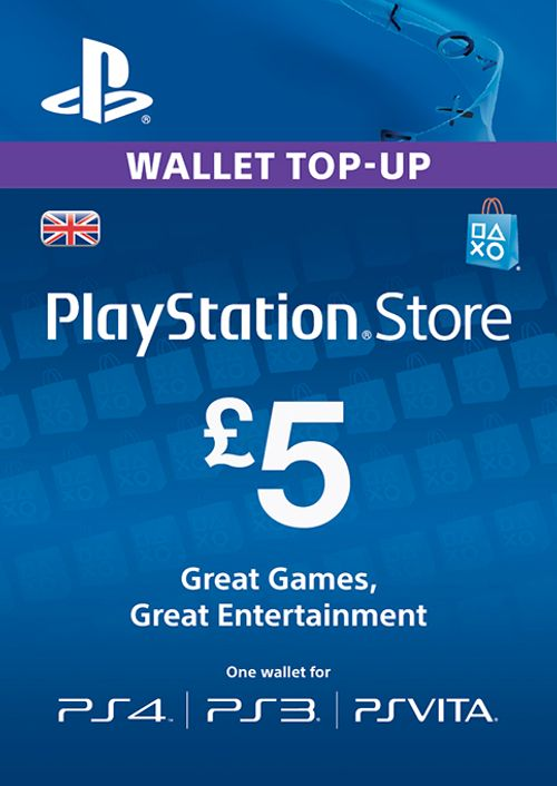 £5 PSN Card - UK