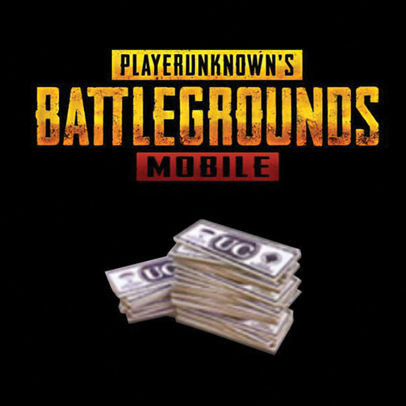 8100 UC (Unknown Cash) - PUBG Mobile