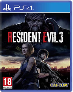 Resident Evil 3 - Playstation 4 - PS4
