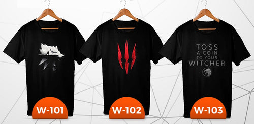 Witcher T-Shirt (3 pieces)