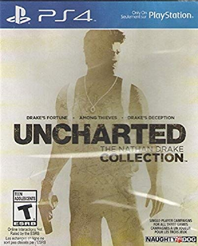 Uncharted: Nathan Drake Collection - PS4 - Playstation 4 - (Used_