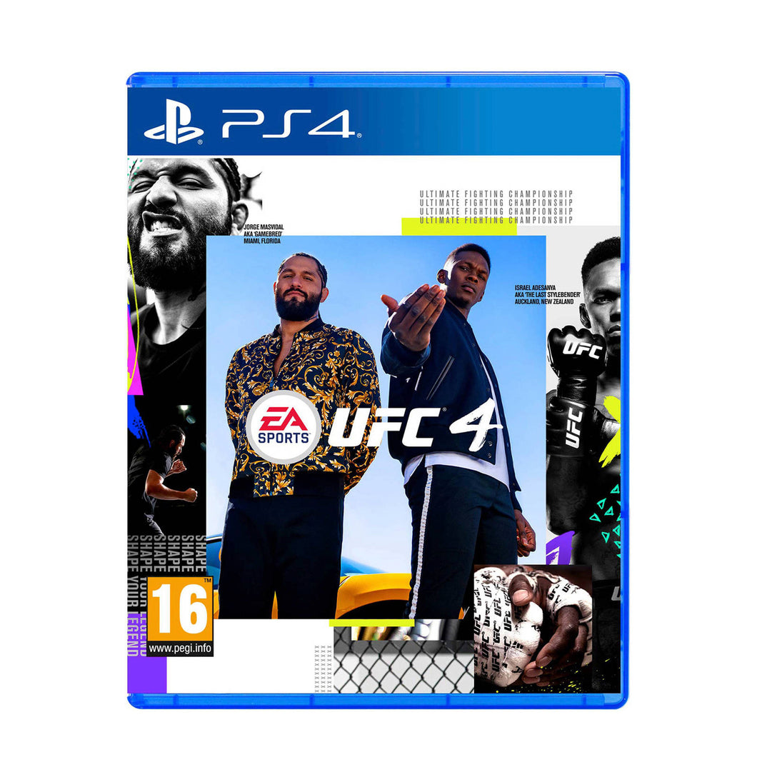 UFC 4 - PS4 - Playstation 4