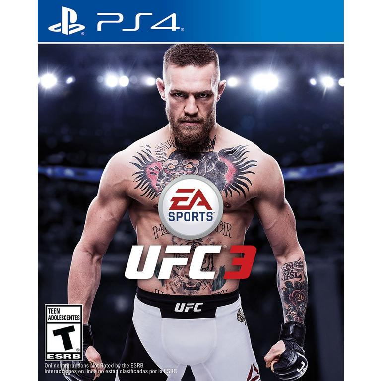 UFC 3 - PS4 - Playstation 4 - (Used)