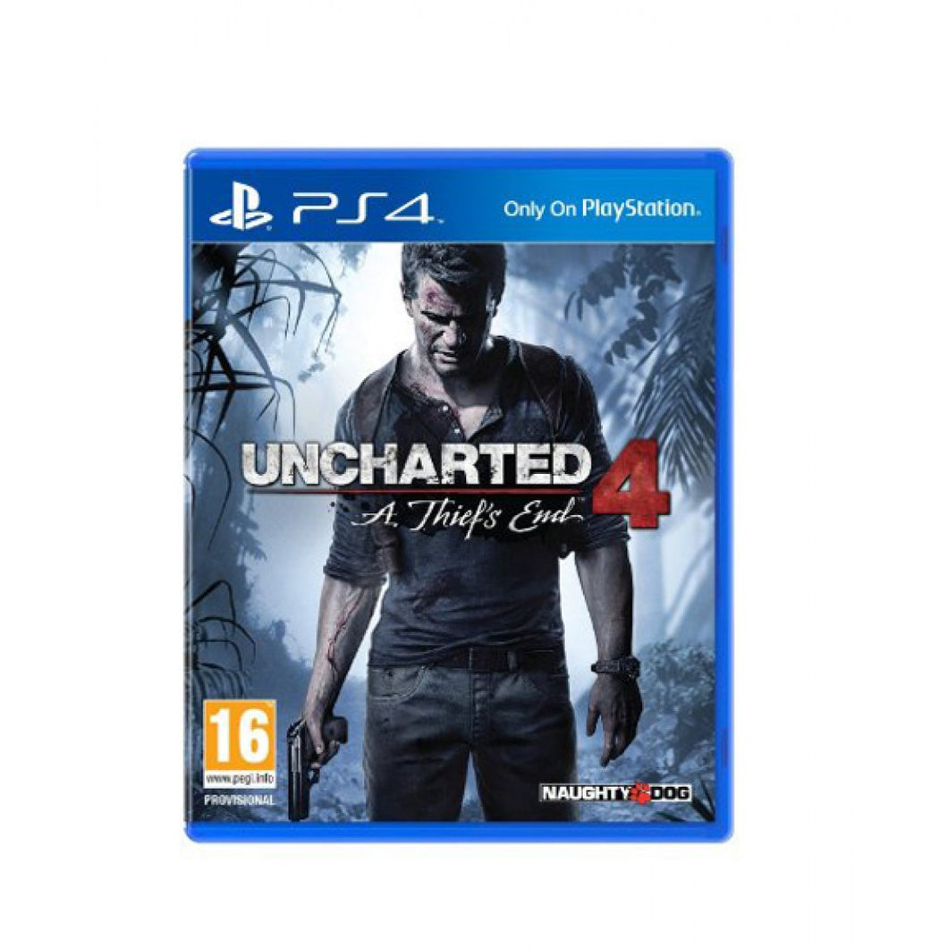 Uncharted 4 - PS4 Exclusive - PlayStation 4 (Used)