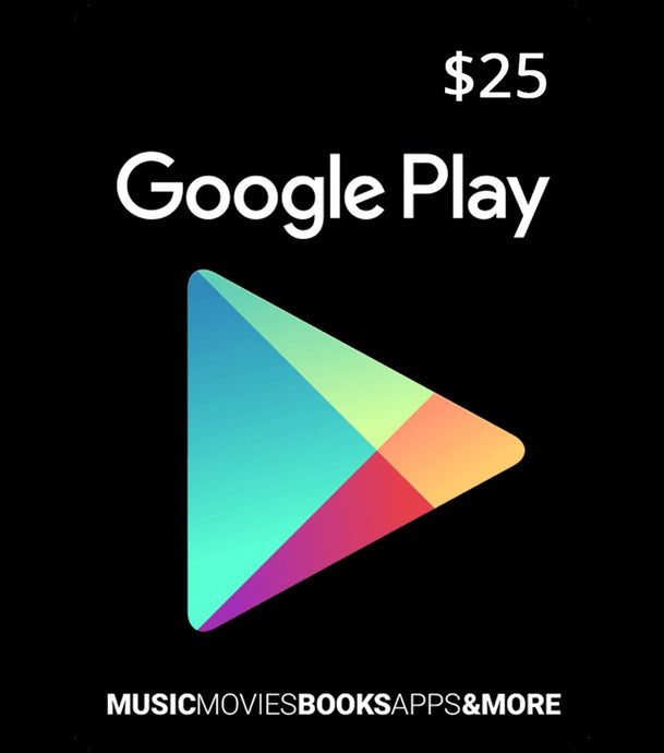 $25 Google Play Card - USA