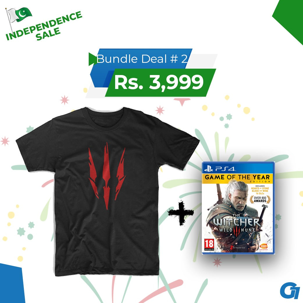 The Witcher Bundle - Independence Day Sale