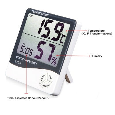 HTC-2 Temperature & Humidity Meter