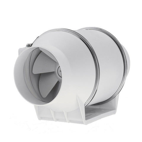 "Air Inline Duct Fan - HZ- 100 ""4 Fan (100mm) 2 Speed"