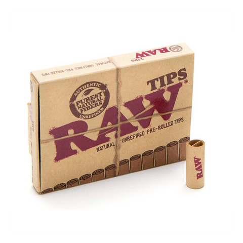 RAW TIPS - PRE ROLLED