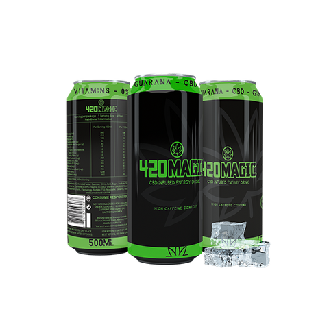 420 Magic CBD Infused Energy Drink 500ML