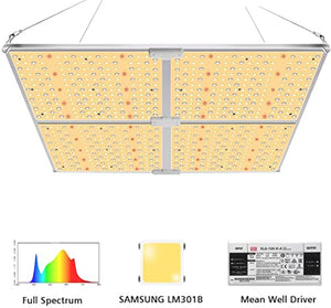 Samsung LM301B white with enhanced red for seed to flower growth 450W LED