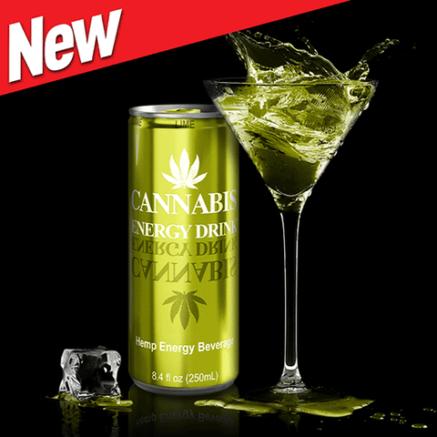 Cannabis Energy Drink® Lime