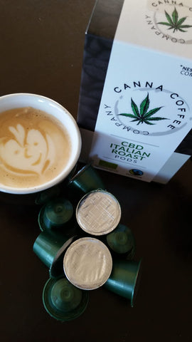 CannaCoffee | CBD Italian Roast Pods