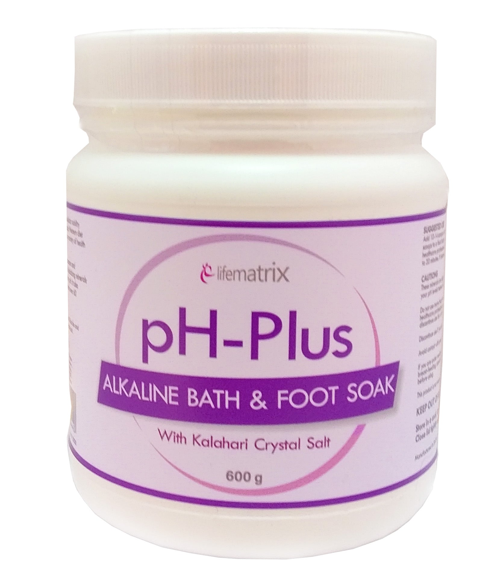PH Plus | Alkaline Bath & Foot Soak 600G