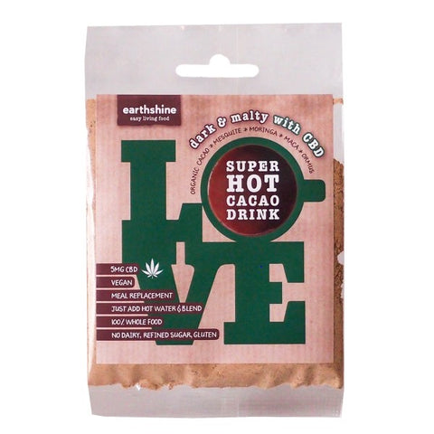 Super Hot Cacao Drink – Dark & Malty with CBD – 30g