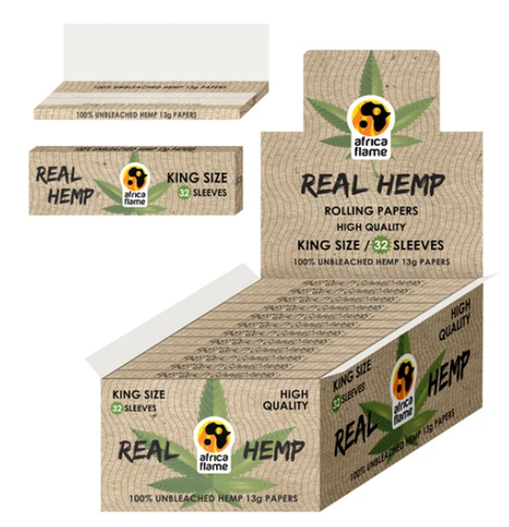 Africa Flame Pure Hemp King size