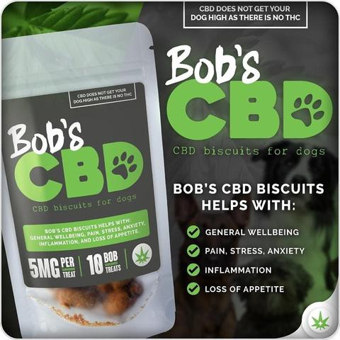 Bob's CBD Dog treats