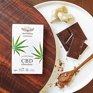 Soaring Free CBD Chocolate Bar 50G