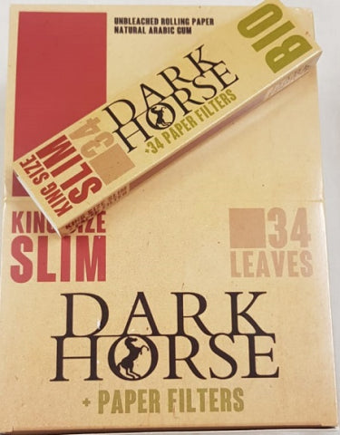Dark Horse BIO, King Size Slim Rolling Papers