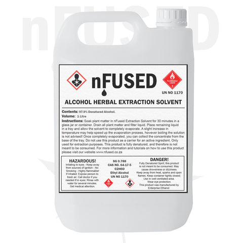nFused 1L Herbal Extraction Solvent