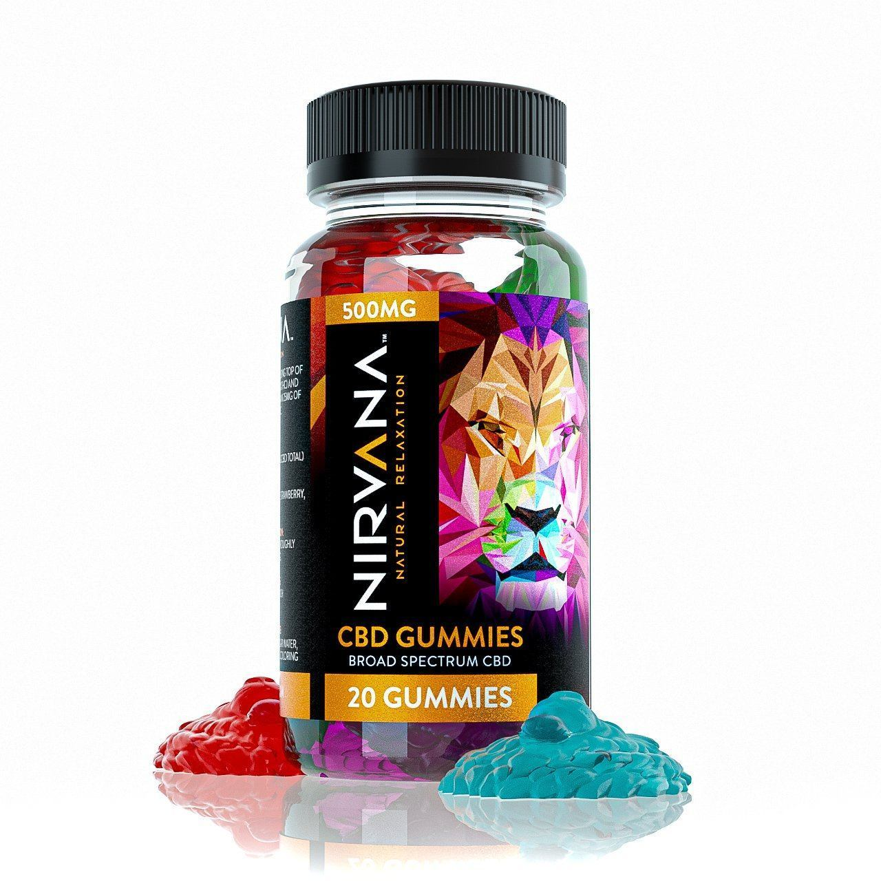 Nirvana CBD Gummies 500mg