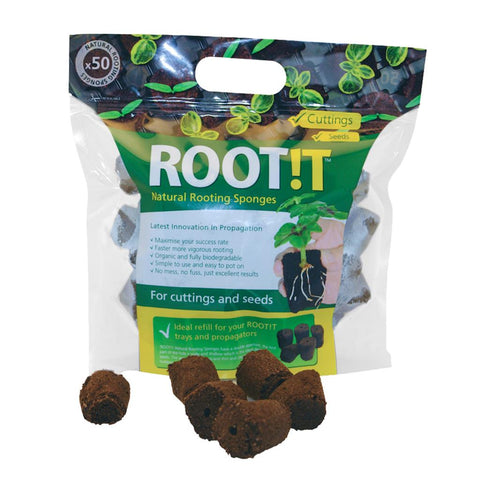 ROOT!T NATURAL ROOTING SPONGES 50 REFILL