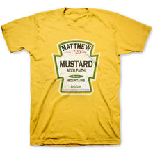 Load image into Gallery viewer, Christian T-Shirt Mustard