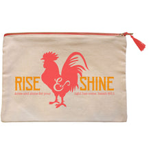 Load image into Gallery viewer, grace & truth Rise & Shine Zipper Bag