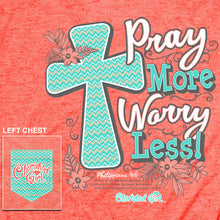 Load image into Gallery viewer, Cherished Girl Womens T-Shirt Pray More