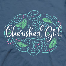 Load image into Gallery viewer, Cherished Girl Womens T-Shirt Trust Script